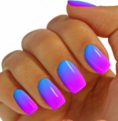 Полное покрытие ногтей