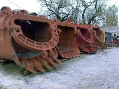 Repair, production, restoration of the mining equipment.