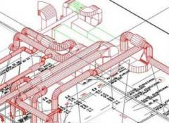 Designing of systems of air ventilation