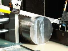Резка на ленточнопильном станке сортового и фасонного металлопроката