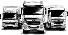 Химчистка грузовых автомобилей