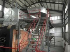 Будівельно-монтажні роботи промислових котелень