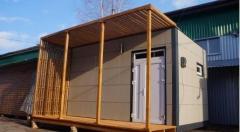 Модульные дома и деревянно-каркасные сооружения от