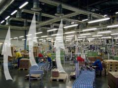 Монтаж вентиляції складських приміщень