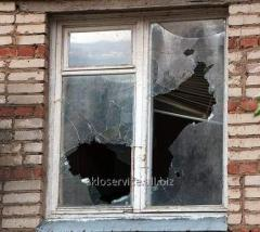 Замена стекла в окне, витрине, дверях, балконе Днепр