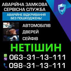 Аварийное вскрытие сейфов Нетишын