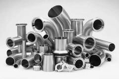 Изготовление различных изделий из нержавеющих, высоколегированных и цветных (бронза, медь, алюминий, латунь) сталей любой степени сложности.