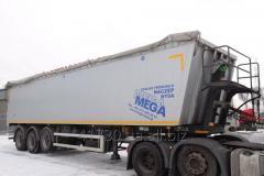 Перевозка грузов зерновозами 40 тонн