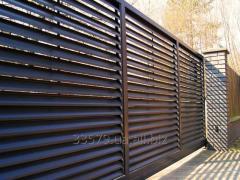 Монтаж и изготовление: заборы, ограждения, ворота, металлоконструкции
