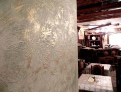 Ремонтные работы: штукатурка, декоративная роспись, покраска, барельеф, мозаика