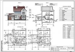 Mimari ve basit binaların inşaatı