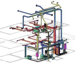 Design and construction works in electric power industry