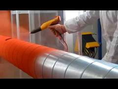 Окраска вентиляционных систем