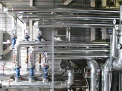 Теплоизоляция трубопроводов. Услуги по