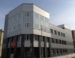 Produktion av fasad och takmaterial