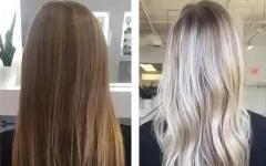 Окрашивание волос краской клиента
