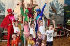 Герои в масках - аниматоры на праздник в Одессе