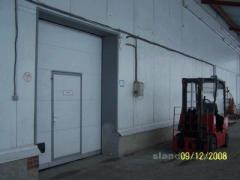 Rent of a warehouse of 6000 sq.m with stages and