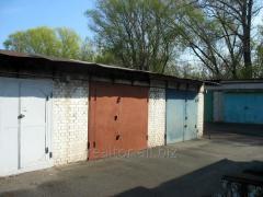Кирпичный гараж с большим подвалом в Киеве, метро Выдубичи