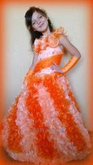Пошив бальных платьев для девочек