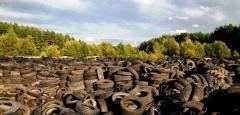 Утилизация изношенных автопокрышек