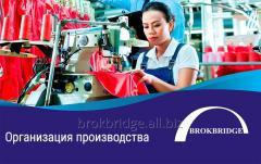 Организация производства вашего товара в Китае   OEM/ODM производство