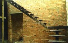 Строительство каркасных лестниц