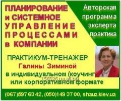 Авторский коучинг Галины Зиминой «Система корпоративных процессов для Собственника и Руководителя компании»