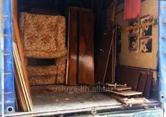 Вывоз старой мебели. Утилизация мебельного хлама