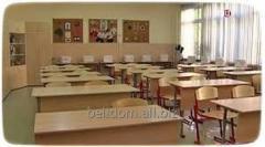 Прибирання шкільних класів у Херсоні