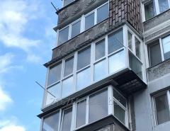 Балконы под ключ. Металлопластиковые окна.