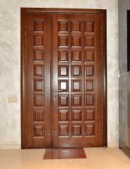 Входные двери из металла.
