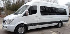 Заказ автобуса и микроавтобуса от 18 до 70 мест. Пассажирские перевозки.