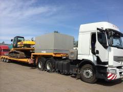 Перевезення вантажу по території України