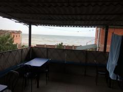 Азовское море, мелекино, сдам простые комнаты.