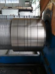 Продольный роспуск рулонной стали, ширина от 16 мм