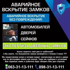 МОНТАЖ  ДВЕРНЫХ ЗАМКОВ ЛЬВОВ НЕДОРОГО 24/7