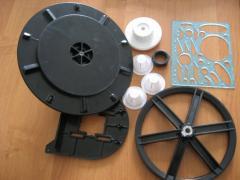 Литье изделий из пластмасс и резиновых смесей