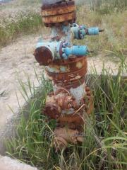 Монтаж демонтаж реставрация колонных головок нефтегазовых скважин в г.Полтава