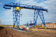 Замена (ремонт) редукторов, двигателей, тормозов мостовых кранов