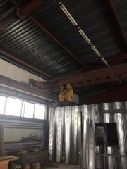 Перевод троллейного токоподвода на кабельный в опорных кран-балках