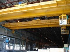 Elimination of deflection and stiffening girders