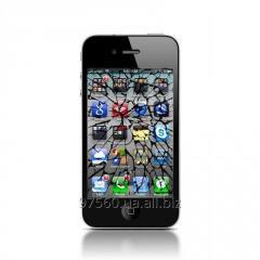Ремонт: Замена разбитого стекла (экрана) iPhone 4 4s (Plus) за 45 мин.