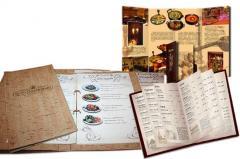 Печать меню, сетов, плакатов для ресторанов, кафе, баров