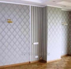 Поклейка шпалер в Києві Малярські роботи