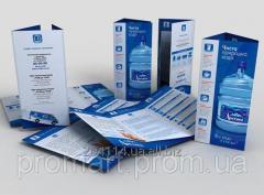 Печать буклетов от одного экземпляра