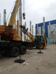 Демонтаж промышленных зданий и сооружений.Земляные работы.