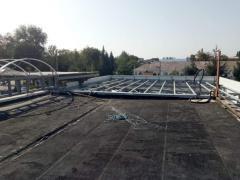 Демонтажные работы крыш
