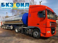 Услуги по перевозке масла и других наливных грузов. Пищевая автоцистерна.