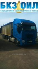 Услуги грузоперевозки урожая зерновых и других сыпучих грузов по Украине.